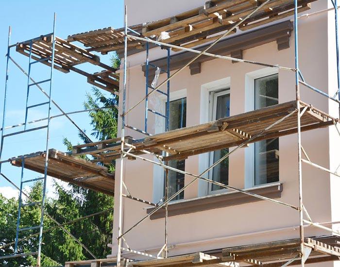 Ravalement de façade à Vitré