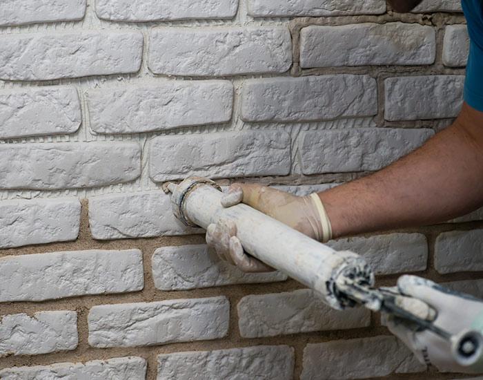 Joints de murs en pierre à Vitré